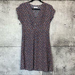 LA REDOUTE // Floral Print Short Sleeve Dress